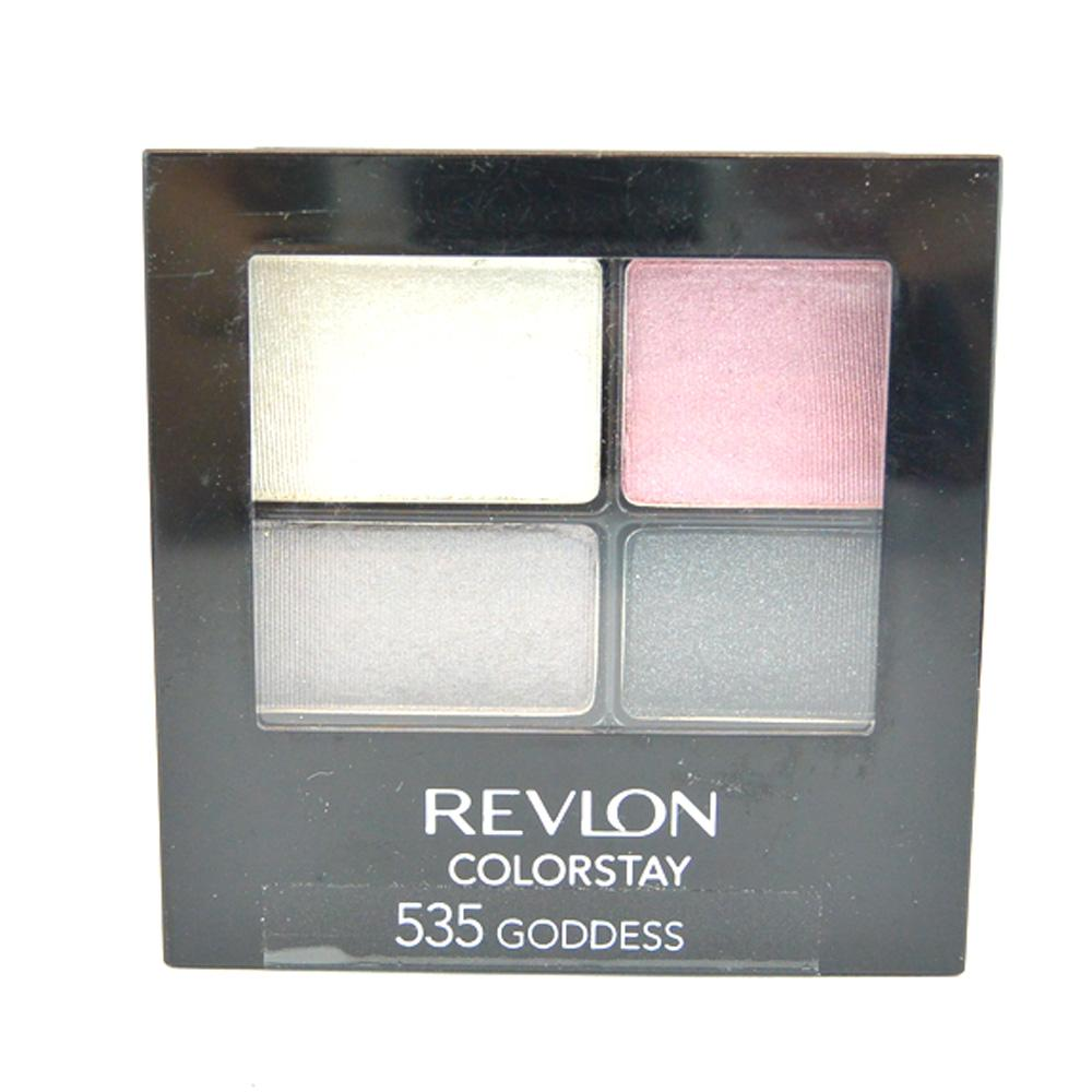 Farduri Revlon Colorstay 16 Hour Quad Eyeshadow - Goddess