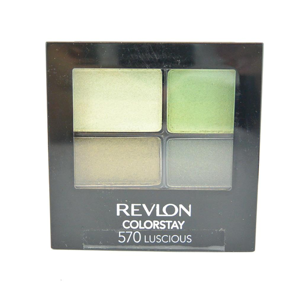 Farduri Revlon Colorstay 16 Hour Quad Eyeshadow - Luscious