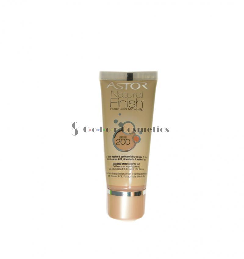 Fond de ten Astor Natural Finish Nude Skin Make-up - Bege