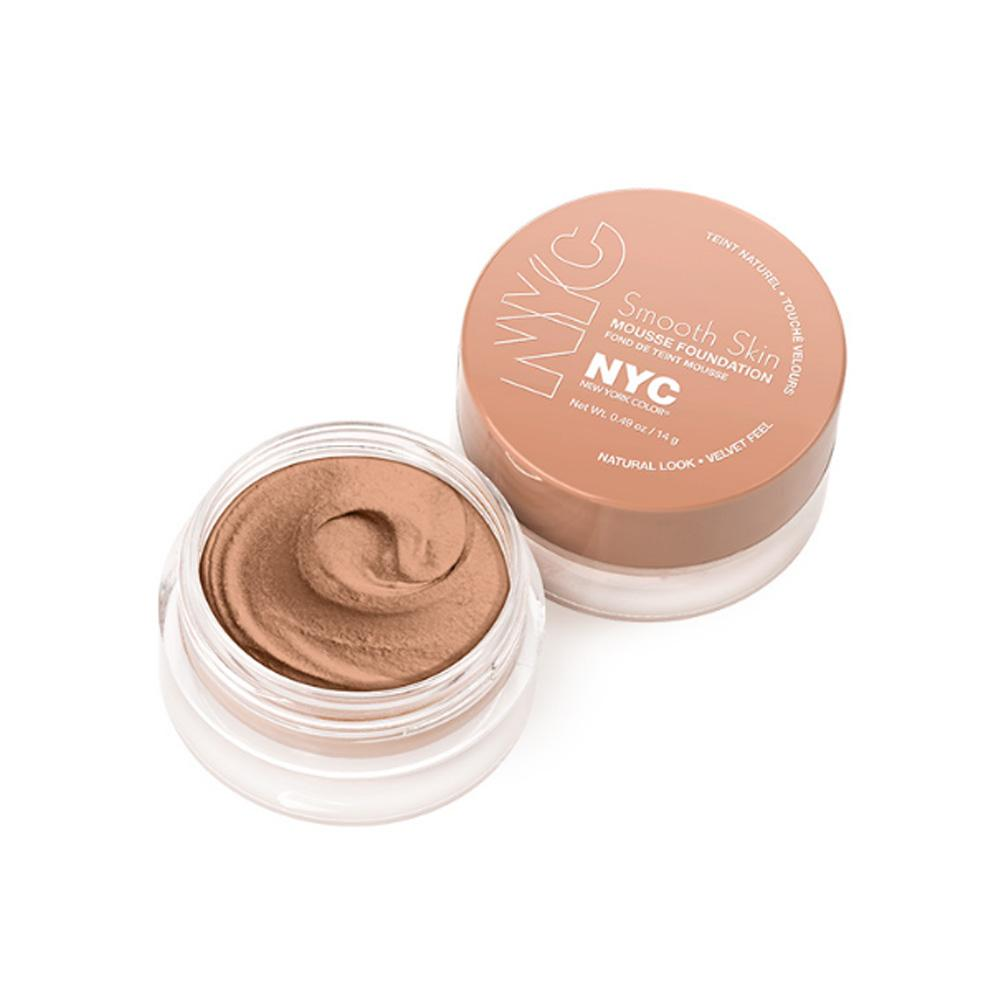 Fond de ten cremos New York Color Smooth Skin Mousse Foundation - Sand beige