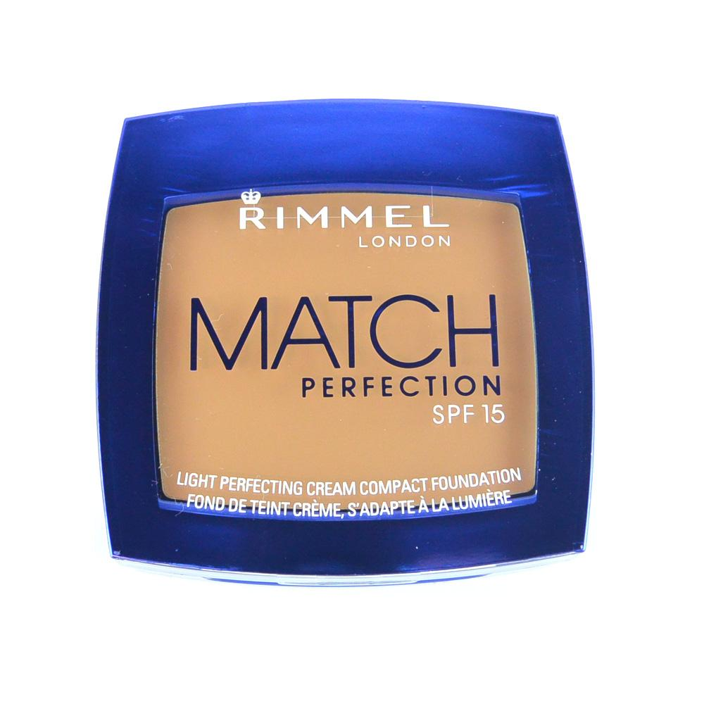 Fond de ten cremos Rimmel Match Perfection Cream Compact Foundation - Bronze