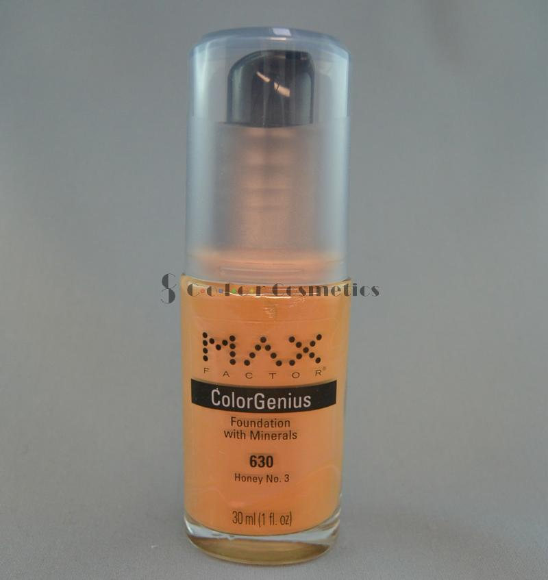 Fond de ten cu minerale Max Factor Color Genius foundation - Honey