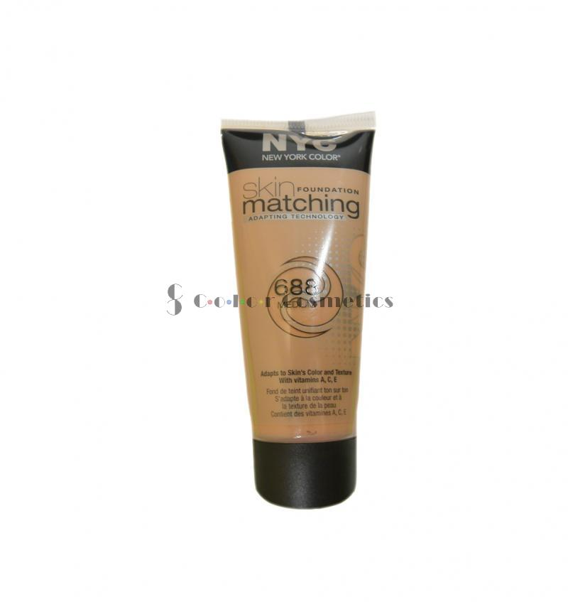 Fond de ten lichid adaptabil NYC Skin Matching foundation - Medium