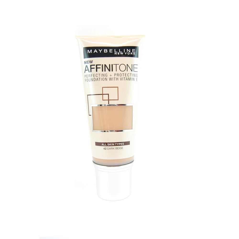 Fond de ten Maybelline Affinitone Foundation - Dark Beige