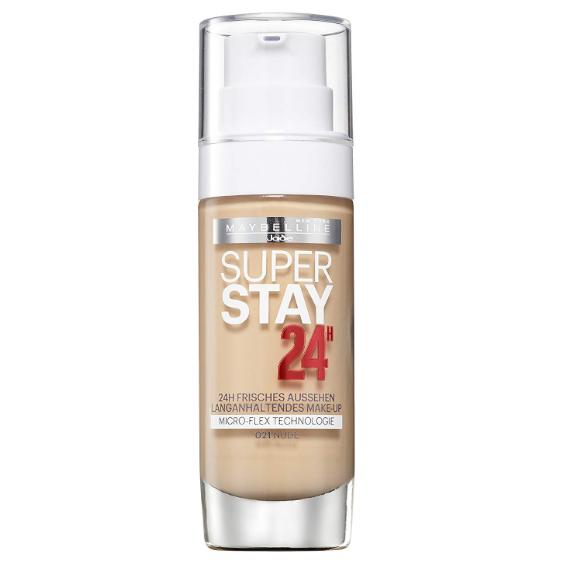 Fond de ten  Maybelline Super Stay 24H , 021,  Nude, Nuanta deschisa