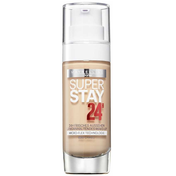Fond de ten Maybelline Super Stay 24H Longwear Foundation - Cameo