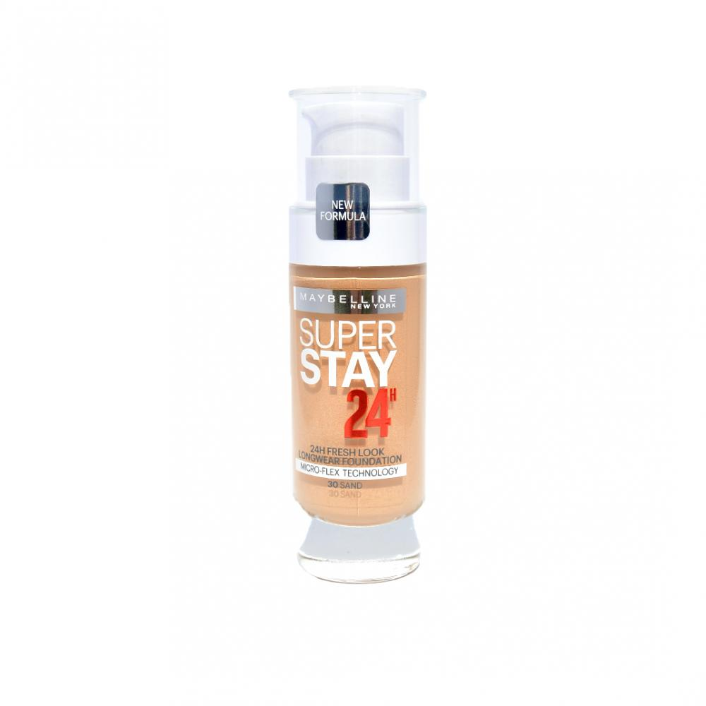 Fond de ten Maybelline Super Stay 24H Longwear Foundation - Sand