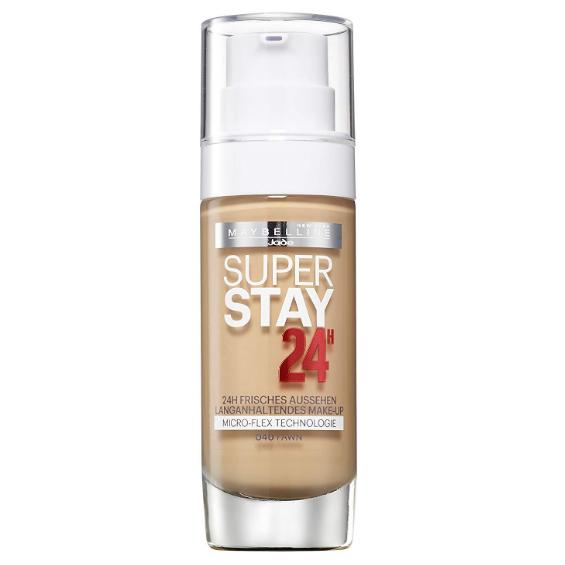 Fond de ten Maybelline Super Stay 24H Longwear Foundation,  040,  Fawn, Nuanta medie