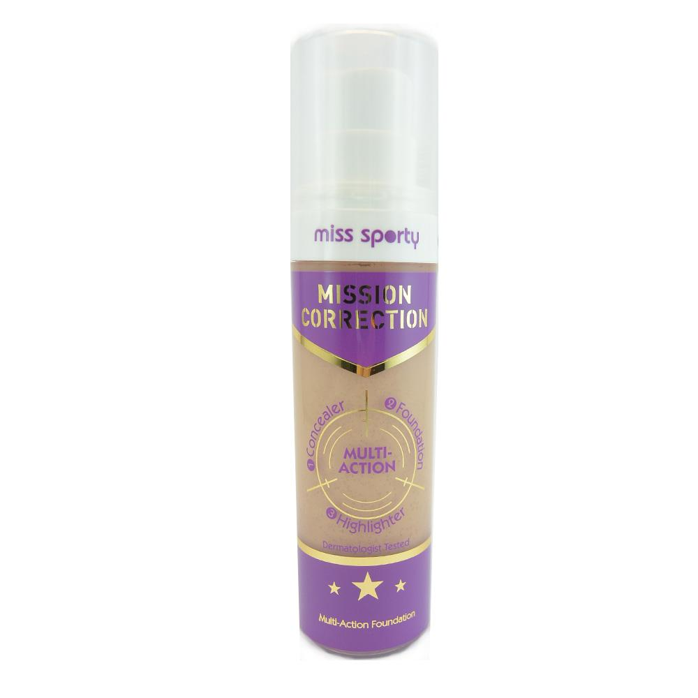Fond de ten Miss Sporty Mission Correction Multi-Action Foundation - Dark