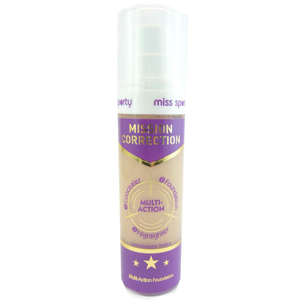 Fond de ten Miss Sporty Mission Correction Multi-Action Foundation - Light