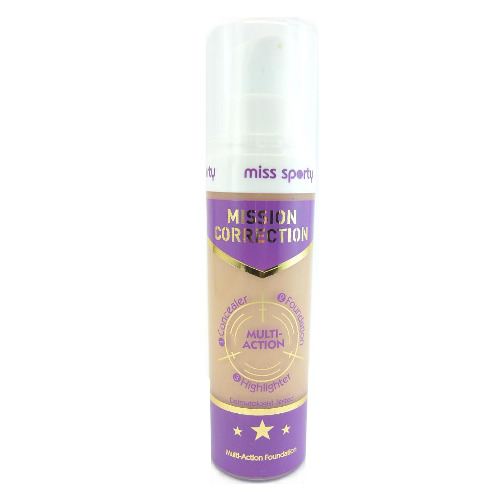 Fond de ten Miss Sporty Mission Correction Multi-Action Foundation - Medium