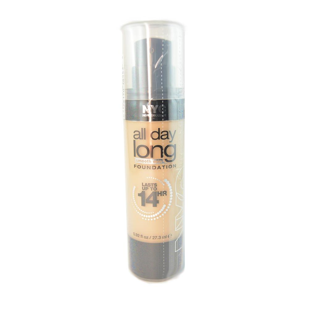 Fond de ten New York Color All Day Long Foundation - Soft Beige