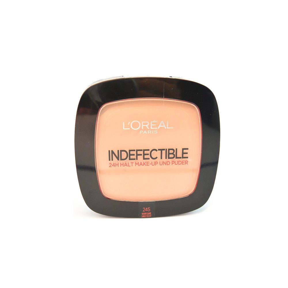 Fond de ten pudra L'Oreal Indefectible Make-Up Powder - Warm Sand