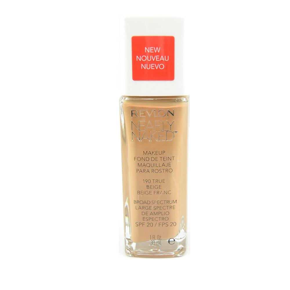 Fond de ten Revlon Nearly Naked Foundation - True Beige