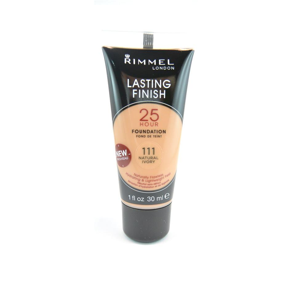 Fond de ten Rimmel Lasting Finish 25 Hour Foundation Tube  - Natural Ivory