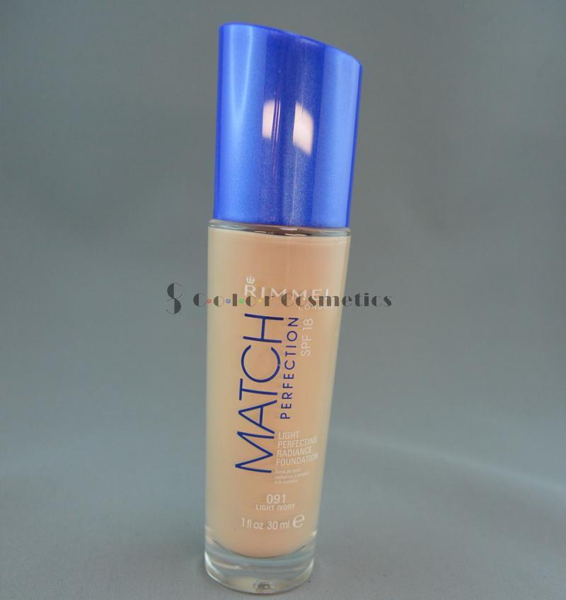 Fond de ten Rimmel Match Perfection - Light Ivory