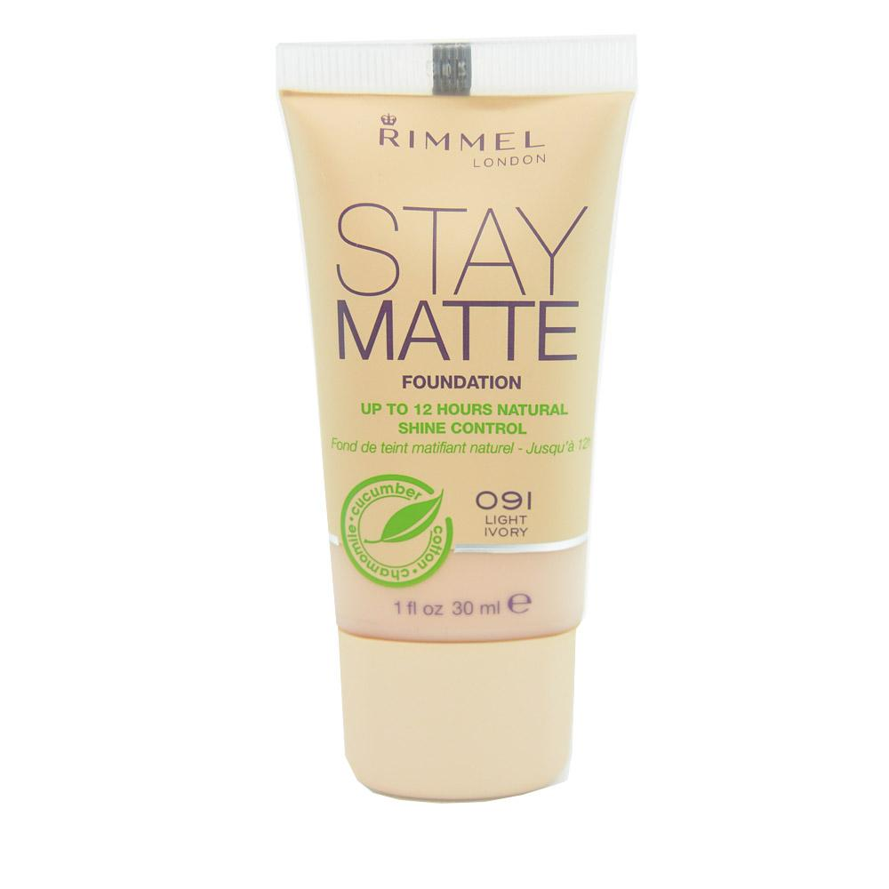 Fond de ten Rimmel Stay Matte - Light Ivory