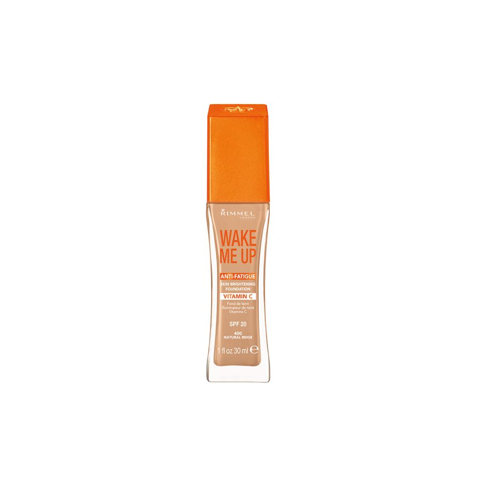 Fond de ten Rimmel Wake Me Up Foundation - Natural Beige