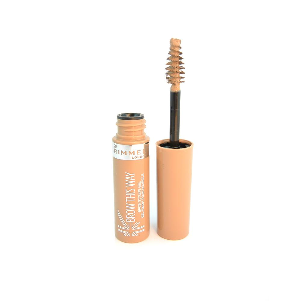 Gel sprancene Rimmel Brow This Way Brow Styling Gel Blonde