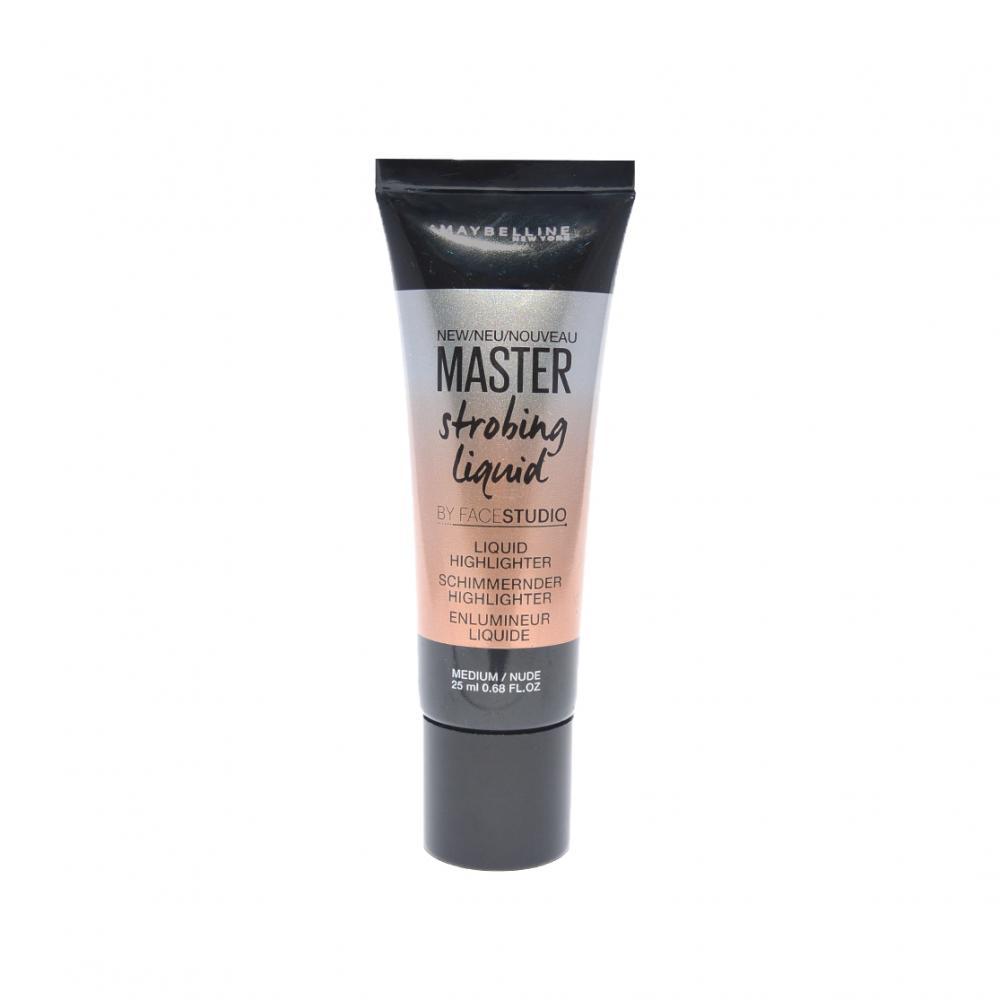 Highlighter lichid Maybelline Master Strobing Liquid Highlighter Medium/Nude