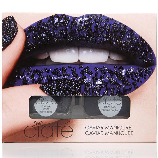 Kit manichiura Ciate Caviar Manicure Kit - Black Pearls