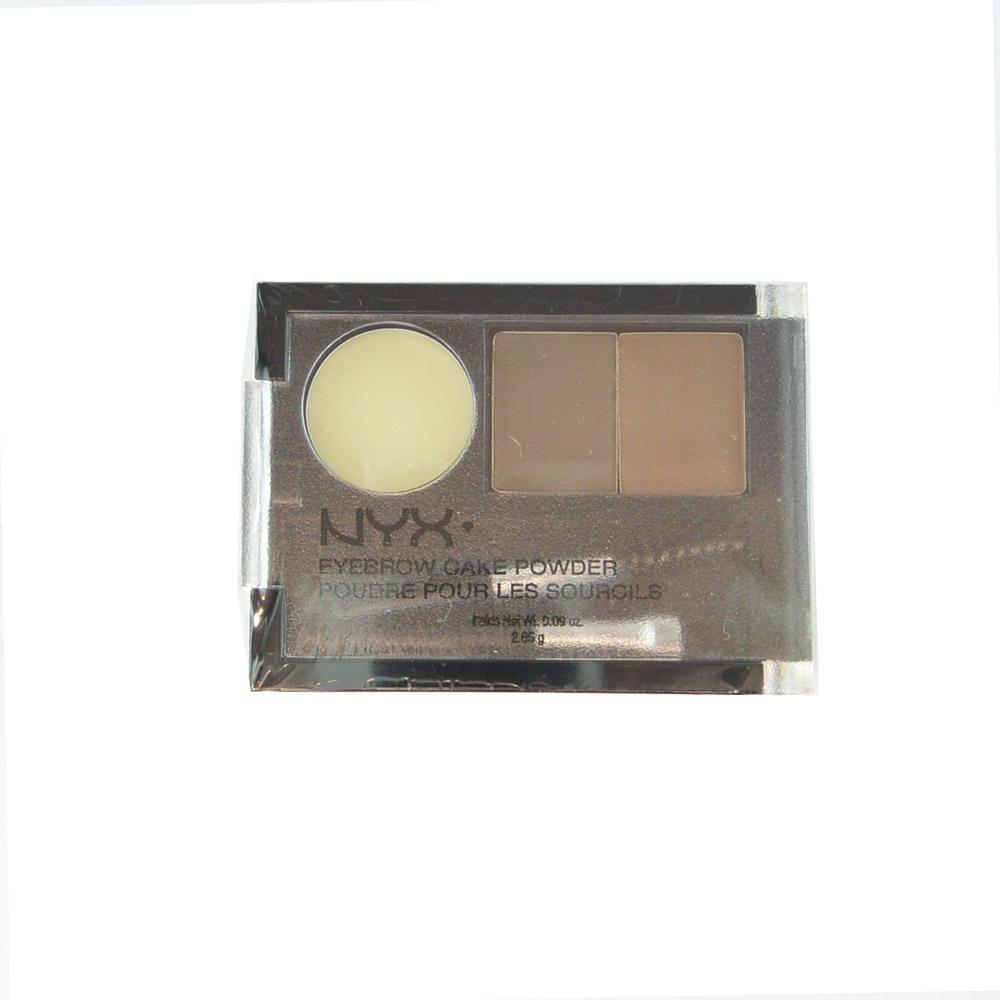 Kit sprancene NYX Eyebrow Cake Powder - Brunette
