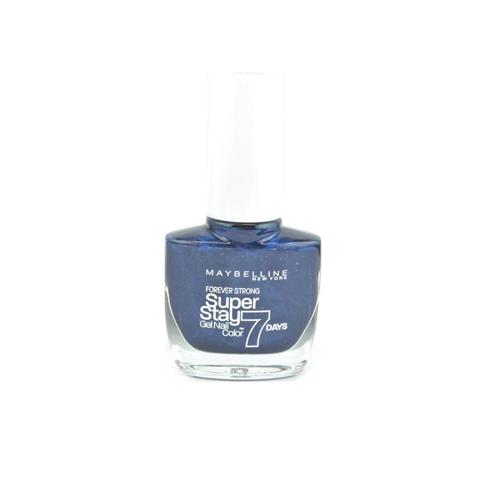 Lac de unghii gel Maybelline Superstay Forever strong 7 Day Gel Nail Color - Midnight Blue