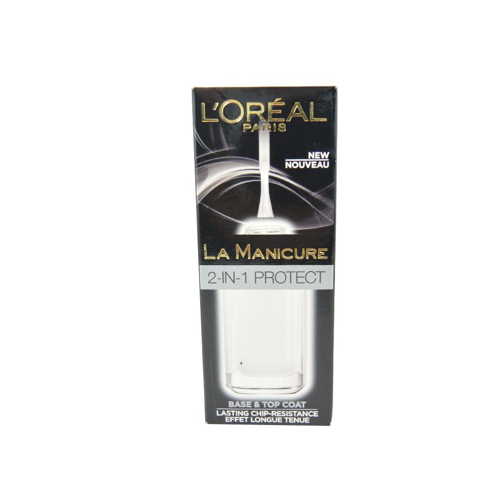 Lac de unghii protector L'Oreal La Manicure 2-In-1 Protect