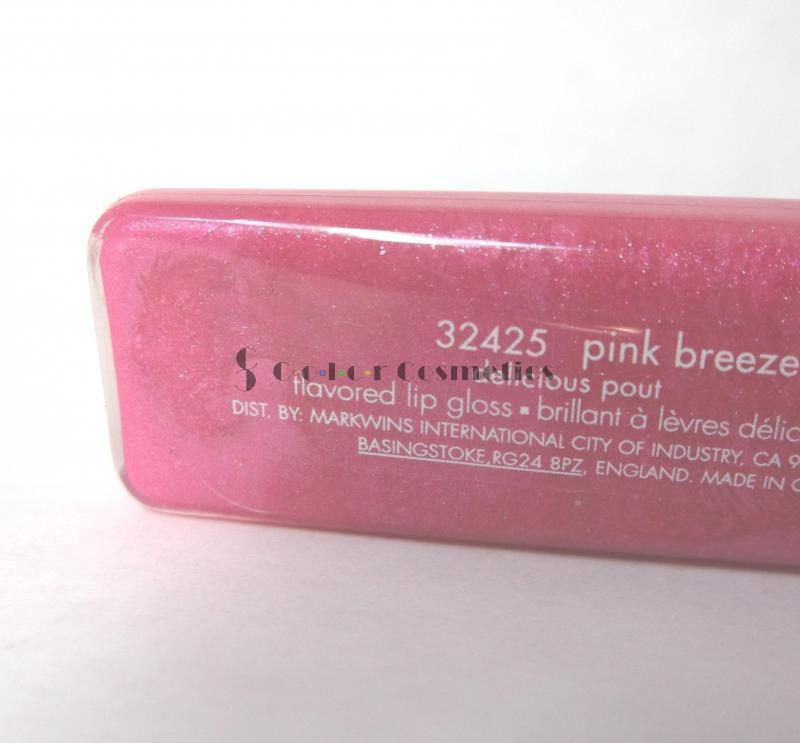 Lip Gloss Calvin Klein Delicious Pout Flavoured - Pink breeze