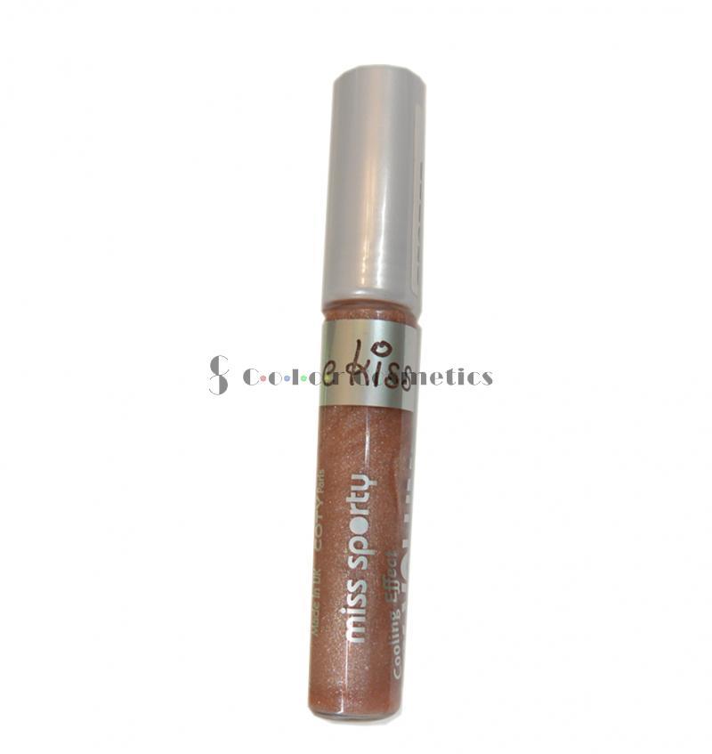 Lip Gloss Miss Sporty XX Volume Kiss me - Honey