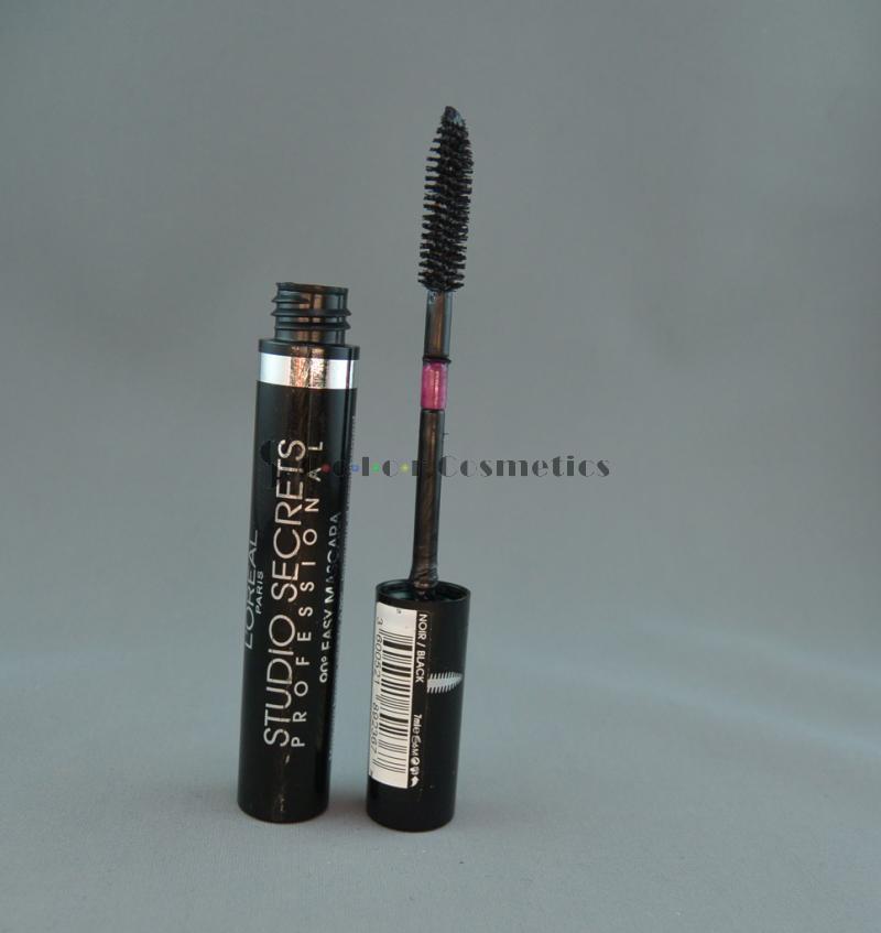 Mascara L'Oreal Studio Secrets Proffesional 90 Easy mascara - Black (Negru)