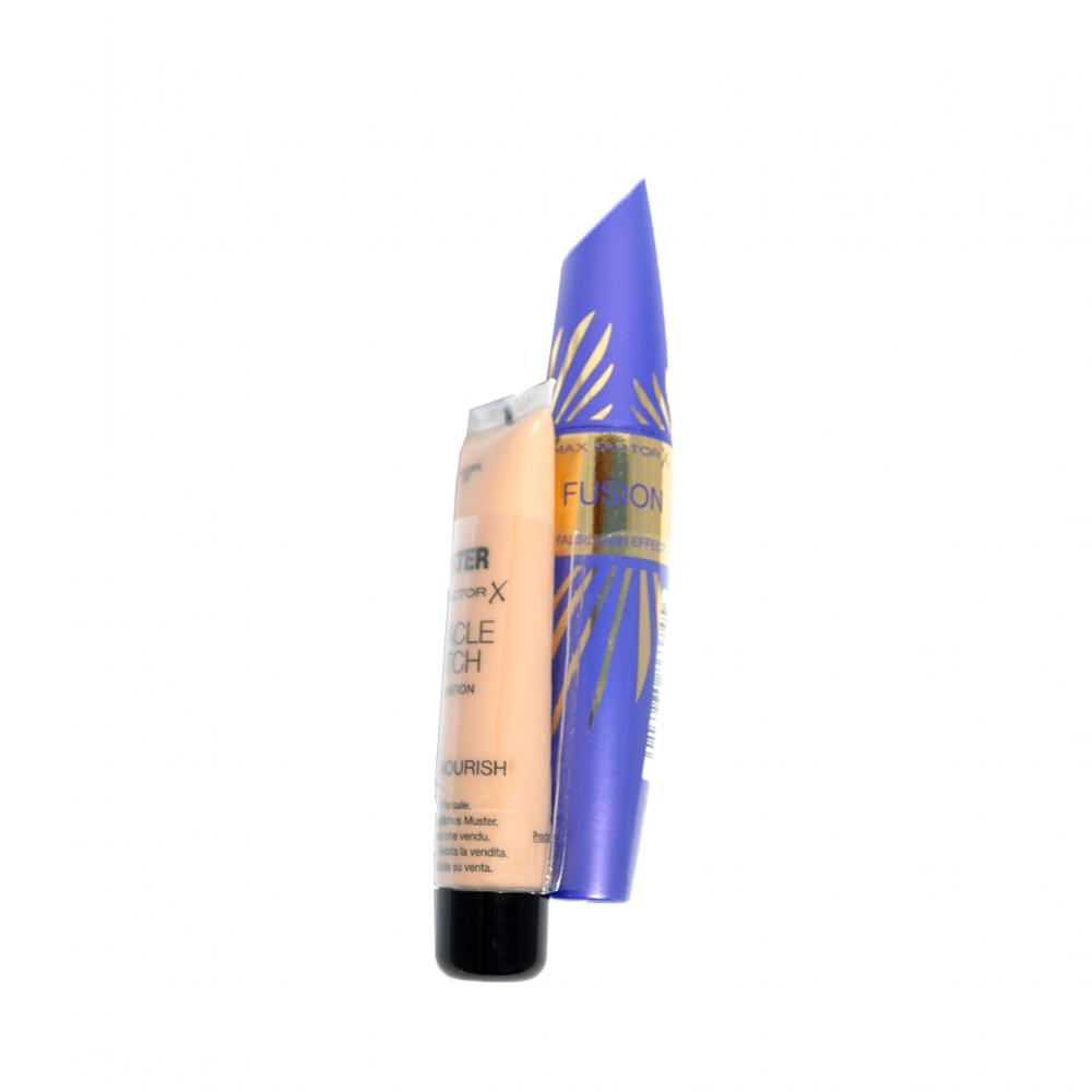 Mascara Max Factor Fushion Mascara si BONUS tester fond de ten Miracle Match