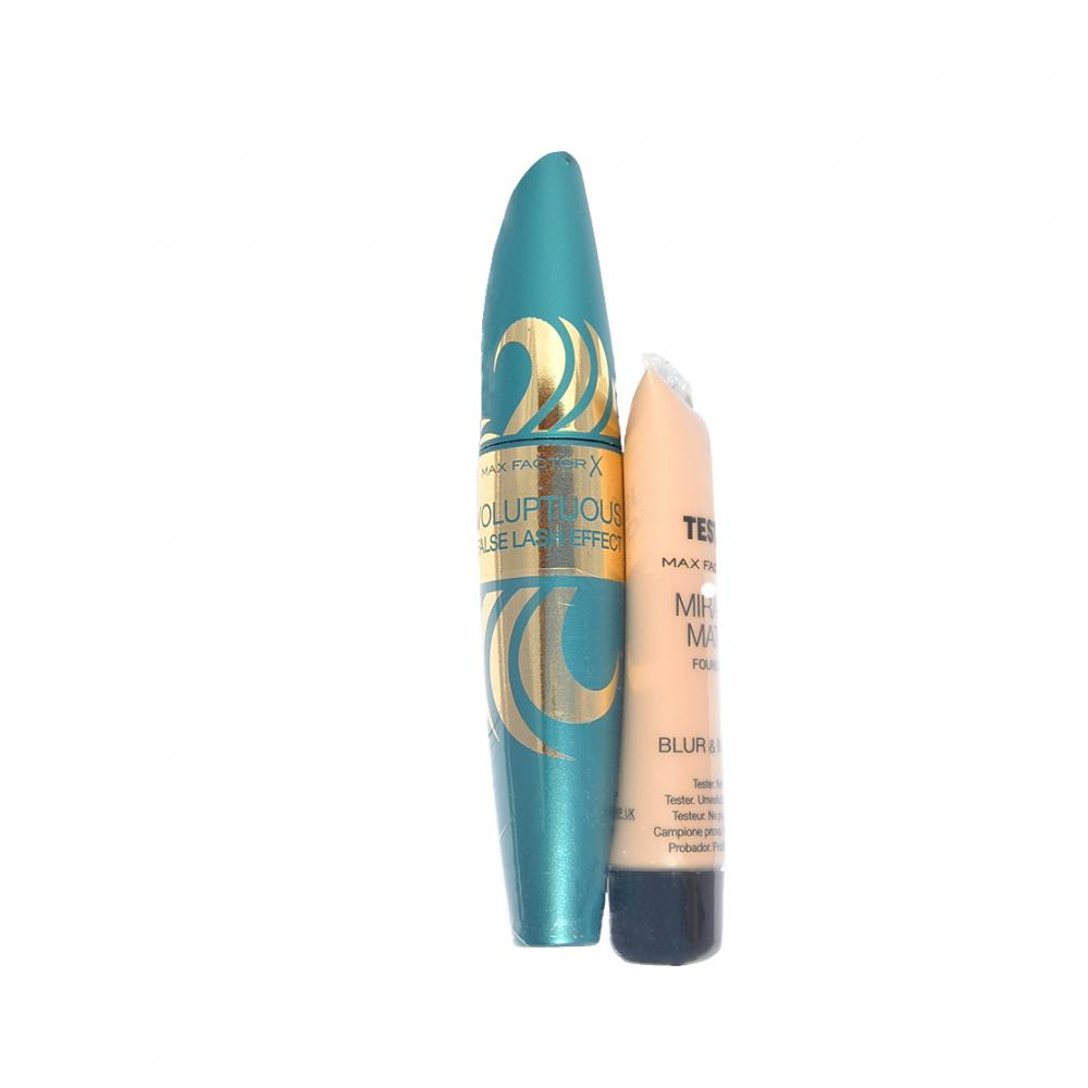 Mascara Max Factor Voluptuous Mascara si BONUS tester fond de ten Miracle Match