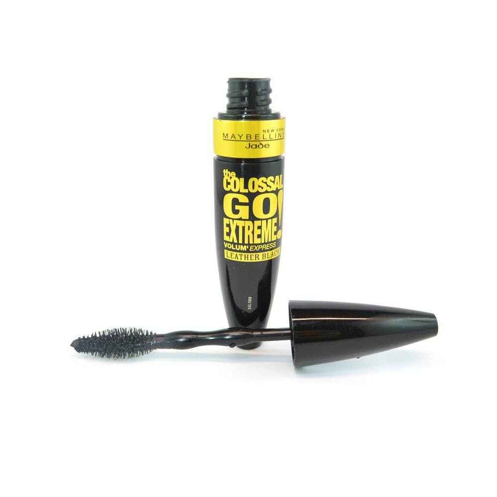 Mascara Maybelline The Colossal Go Extreme Mascara Leather Black