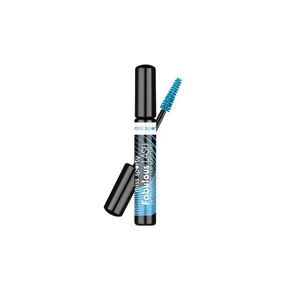 Mascara Miss Sporty Fabulous Lash 002 Extreme Turquoise  Albastru 8ml