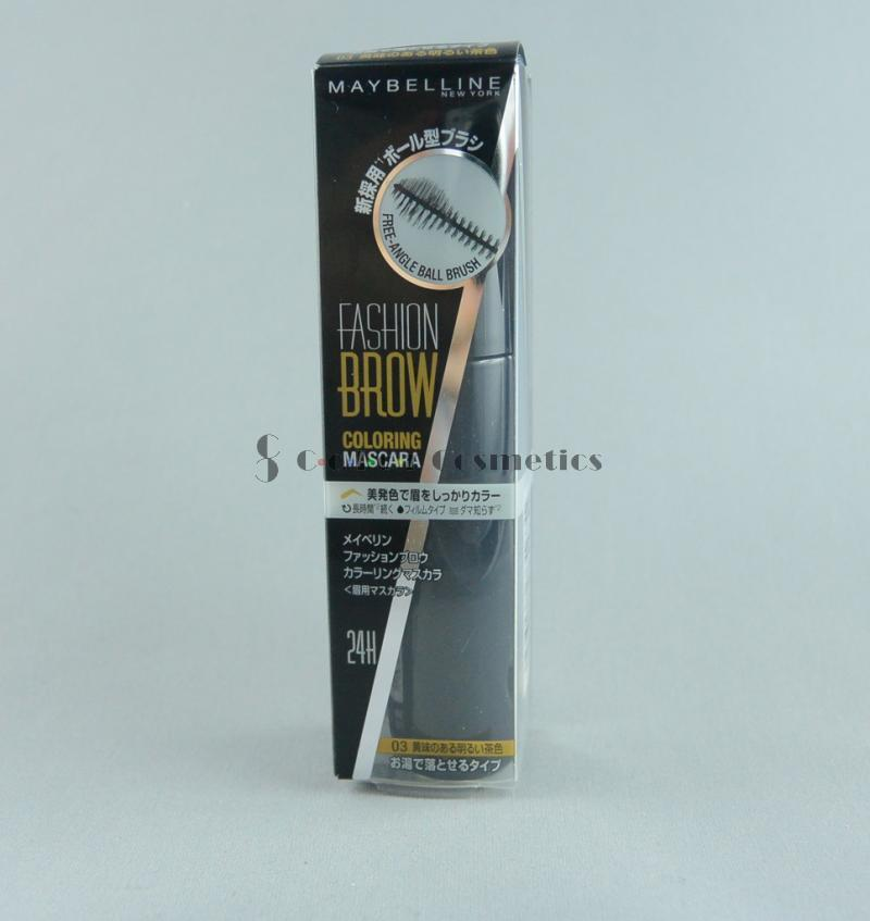 Mascara pentru Sprancene Maybelline Fashion Brow Coloring Mascara - 03