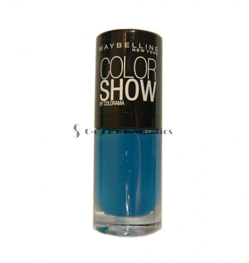 Oja Maybelline Color Show - Superpower Blue
