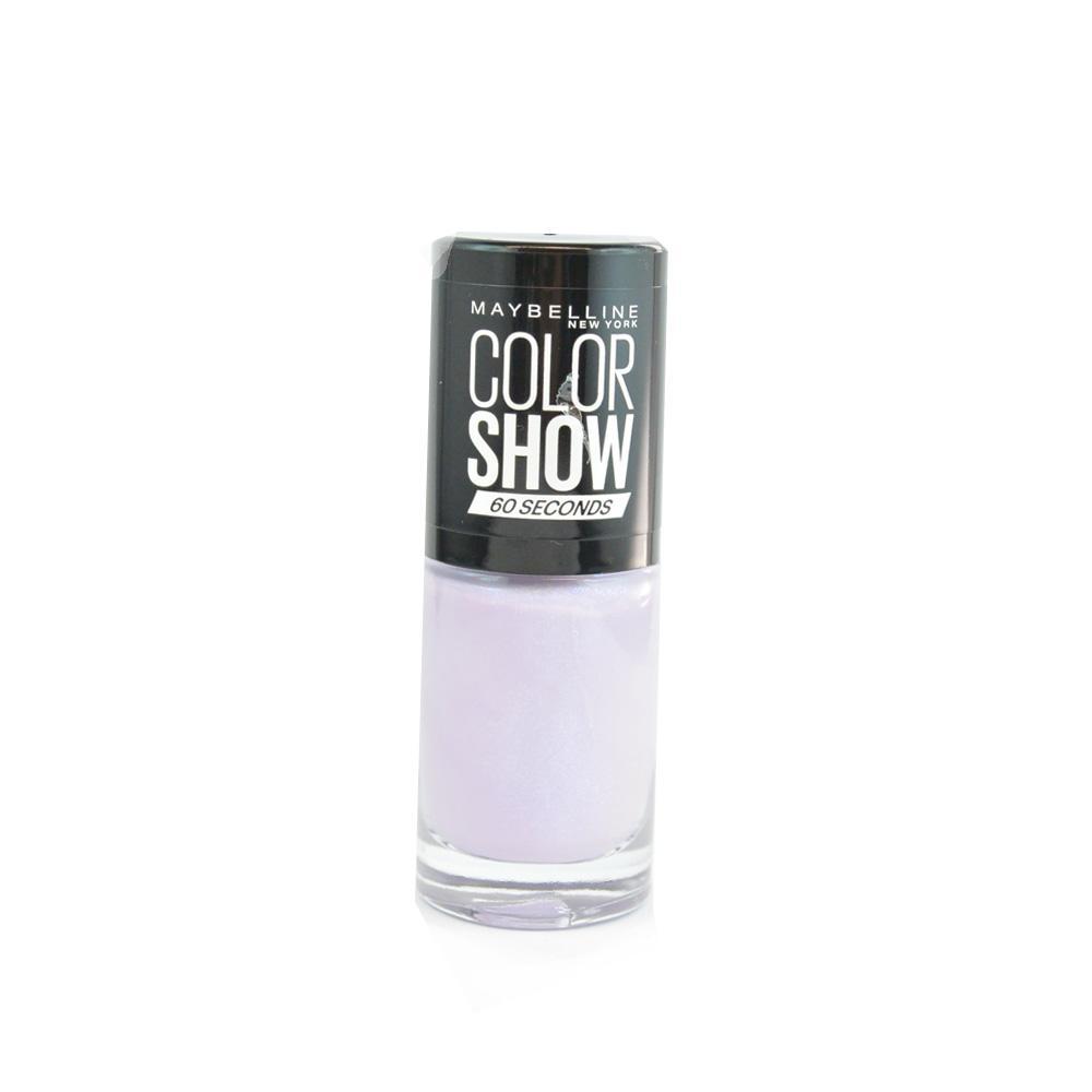 Oja Maybelline Color Show Nail Polish - Love Lilac