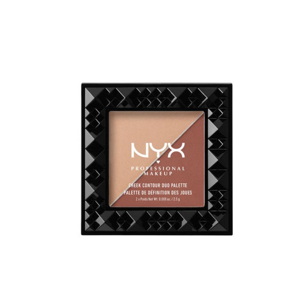 Paleta contur fata NYX Cheek Contour Duo Palette - Ginger & Pepper