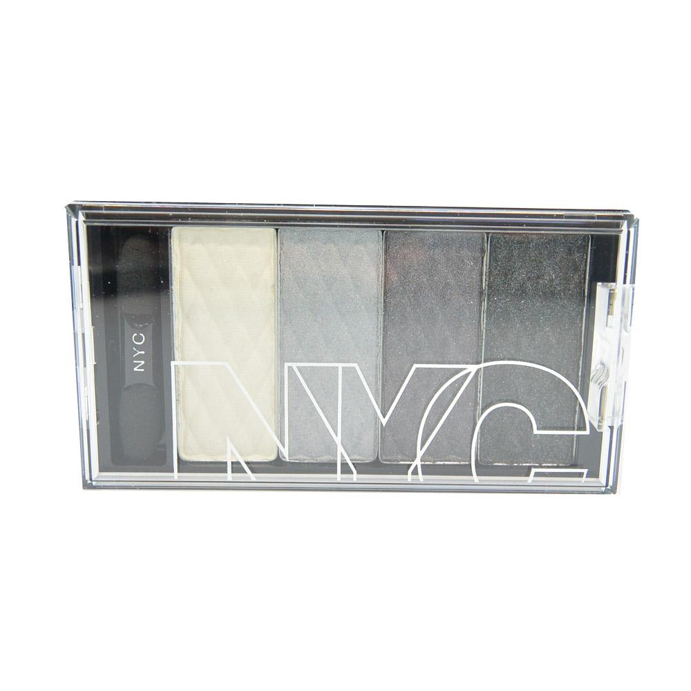 Paleta de farduri New York Color City HD Color Quattro Eyeshadow - Gothic Harlem