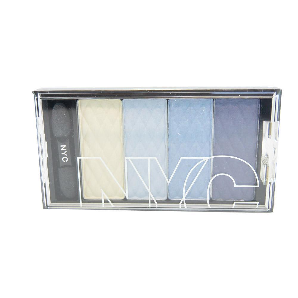 Paleta de farduri New York Color City HD Color Quattro Eyeshadow - Manhattan island