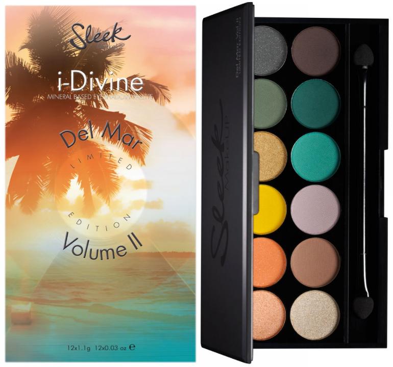 Paleta de farduri Sleek i-Divine Eyeshadow Palette -   Del Mar Volume II