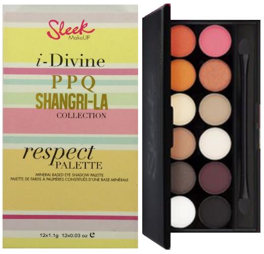 Paleta de farduri Sleek i-Divine Eyeshadow Palette -  Respect