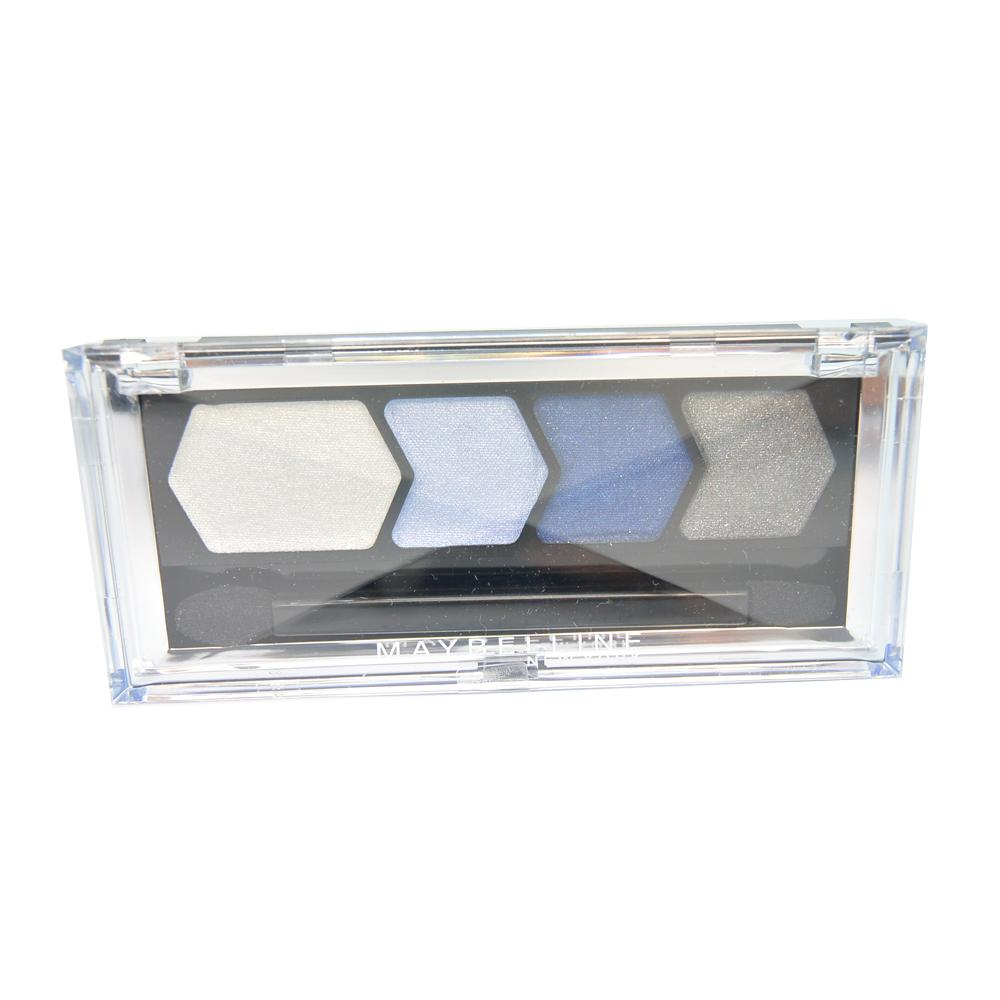 Paleta farduri Maybelline Silk Glam By Eyestudio Quad Eyeshadow - Blue Drama
