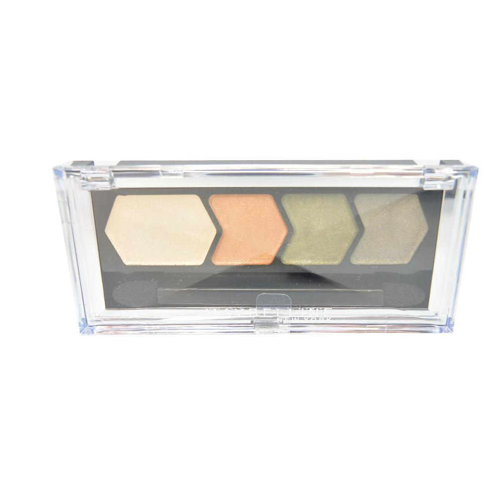 Paleta farduri Maybelline Silk Glam By Eyestudio Quad Eyeshadow - Bronze Drama
