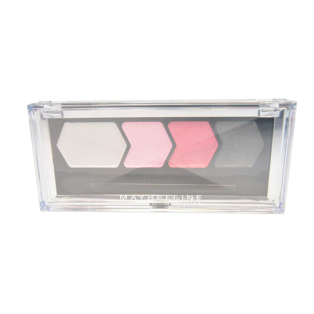 Paleta farduri Maybelline Silk Glam By Eyestudio Quad Eyeshadow - Pink Drama
