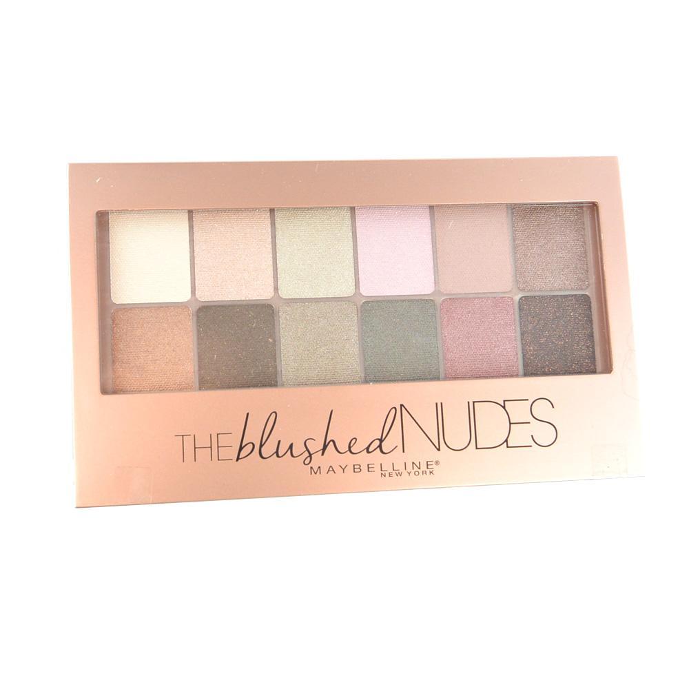 Paleta farduri Maybelline The Blushed Nudes 12pc Eyeshadow Palette