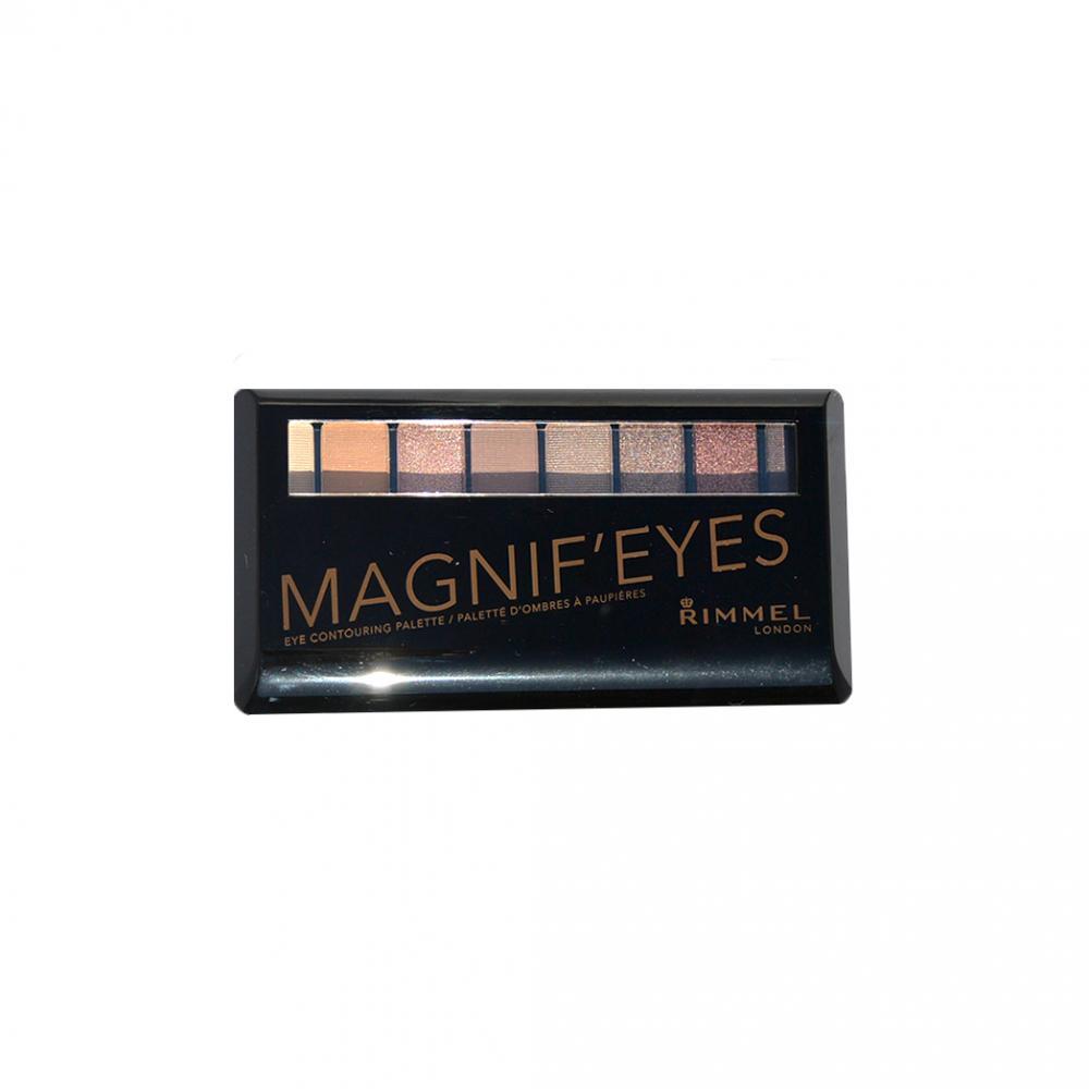 Paleta farduri Rimmel Magnif'eyes Eye Contouring Palette - London Nudes Calling