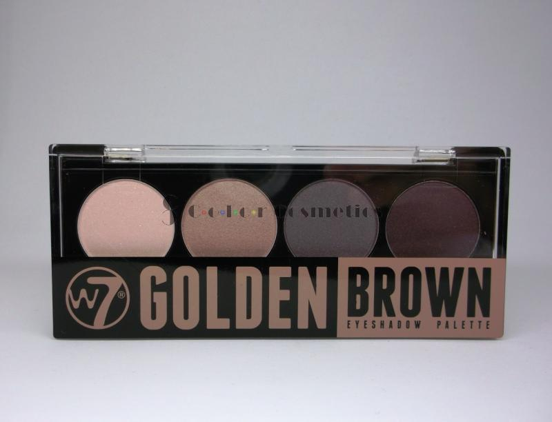 Paleta Farduri W7 - Golden Brown
