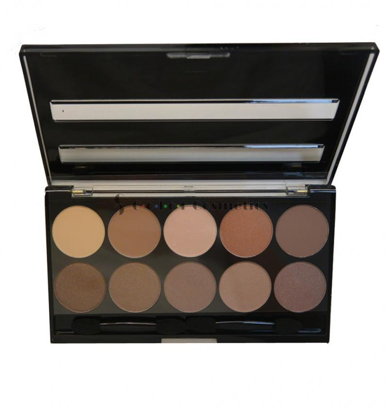 Paleta Farduri W7 10 out of 10 Browns